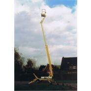 Nacelle tractable télescopique 200 nwt - thomas - hauteur de travail 20 m - capacité de levage 250 kg