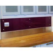 Crédence inox cuisine professionnelle - Plakinox - Largeur de 60 cm à 200 cm