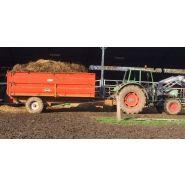 GV 60 BRR Benne agricole à ridelles démontables - Devès - Charge 6 T