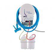 H005 - Centrales nettoyage et désinfection - Realinox - Support bidon 5L