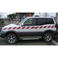 Adhésif rétro-réfléchissant - marquage véhicule - pano sign'service