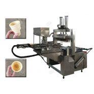 Machine de Baker de cône d'acier inoxydable - Henan Gelgoog - Capacité 2500-3000pcs/h