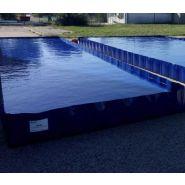 Bac de rétention plastique souple pliable 22000 litres
