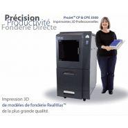Imprimante 3d pour bijouterie / joaillerie