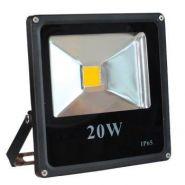 PROJECTEUR LED LUCKY 20W BLANC NATUREL - IP66