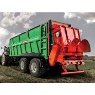 Power-push plus+ remorques agricoles à fond poussant - brantner - poids 14 à 34 t