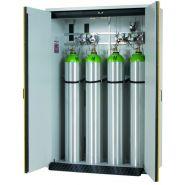 144522W - Armoire pour bouteilles de gaz coupe-feu G30.14 - Denios - Profondeur intérieure de 479 mm