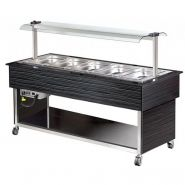 BUFFET CHAUD - 5 X 1/1 GN PROFESSIONNEL