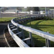 Euro SYSTECH H2 - Glissière de sécurité - Roadis - largeur de fonctionnement : W6 (1,8m)