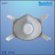 6693L - Masque FFP3 - Suzhou Sanical protection Product Manufacturing Co. Ltd - Avec Charbon Actif Et Valve