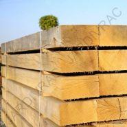 Traverse en chêne - d'halluin decoration - longueur de 220 cm