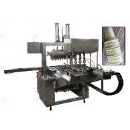 Machine automatique de fabrication de cornet de crème glacée - Henan Gelgoog - Capacité 2500-3000pcs/h