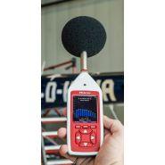 Cir/cr:172a - sonomètre intégrateur - scantec - 1:1 bandes d'octave / audio
