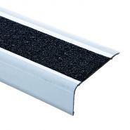 SEC0553 - Nez de marche d'escalier - Ore peinture - En aluminium et granulats 65 mm
