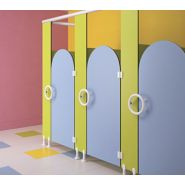 Cabines sanitaires PMR Cabi'ange / hauteur 100 cm / épaisseur parois 13 mm
