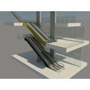 Velino 300 Escalier mécanique - Thyssenkrupp - 1 000 mm