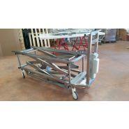 Chariot électrique spécial corps obèse (charge admissible 400 kg)