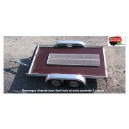 Remorque chassis - chassis de remorque - walin - essieu galvanisé renforcé de 850 kg.