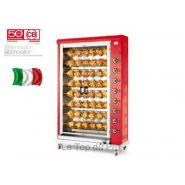 Rôtissoire électrique à broche 48 poulets