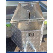 6611 - Coffre de flèche - Mil remorques - Poids 8,1 kg.
