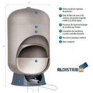 Réservoir en composite 100 litres : eau potable  réf. c2b100rld