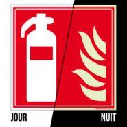 A0013_PHO - Panneau d'incendie - Signalétique biz - Dimension 125 * 125 mm
