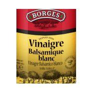 Vinaigre basalmique blanc de modena borges bout. 250 ml
