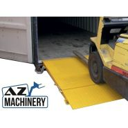 HCRN-065 - Rampe d'accès pour conteneur - AZ MACHINERY - Capacité Nominale: 6 500 Kg