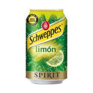 SCHWEPPES LEMON SPIRIT BOÎTE 33 CL X 24 UNITÉS