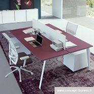 Danjoux - Bureau open space - Concept Bureau - pour 2 personnes