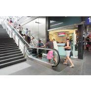TransitMaster 120 Escalier mécanique - Kone - ,75 - 0,65 - 0,5 - 0,4 m/s