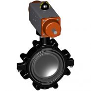 LUGSTYLE BUTTERFLY VALVE TYPE 242 PVC-U FO (FAIL SAFE TO OPEN) WITHOUT MANUAL OVERRIDE