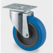 ROULETTE PIVOTANTE - 3470UFR125P62 BLUE