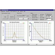 Modules du logiciel d'optest tm software