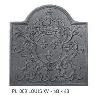 PLAQUE LOUIS XV PL 003