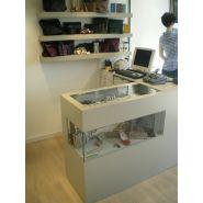 Comptoir pour magasin - A4 Inside - Hauteur 1 m