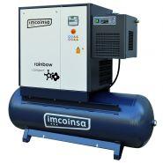 Compresseurs à vis série rainbow compact - Imcoinsa - Poids 276-525 kg