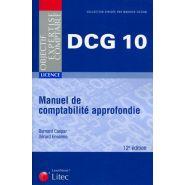 MANUEL DE COMPTABILITÉ APPROFONDIE - DCG 10