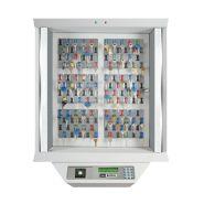 VigiBank 120 Clés - Armoire électronique de gestion des clefs - Heure Et Controle - Dimensions 86 x 70 x 25 cm
