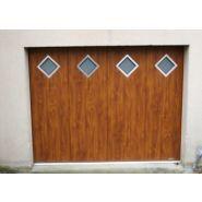 Porte de garage latérale - socodime - panneaux épaisseur 40 à 42 mm