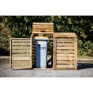 Ref. CP 15090 - Cache-conteneurs et abris poubelle - Foresta - Hors-tout: 1,50 x 0,90 m
