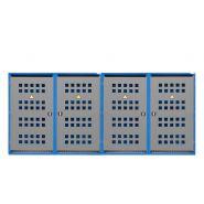 259071w - armoire pour bouteilles de gaz lb 16 - denios - 16 bouteilles de 33kg