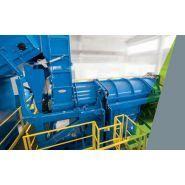 DLB 15 - Machines pour recyclage de plastique - Amut - capacité 1500 kg/h
