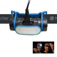 LAMPE TORCHE FRONTALE LED LIGHTWAVE 150LM PORTÉE 20M +DÉTECTEUR NIGHTSEARCHER