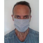 Masque de protection en coton lavable à 60° en 8 jours chez vous