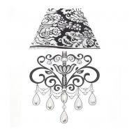 Sticker relief à led lampe baroque n°1 - paris prix