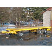 Remorque plateau pour poids lourd - Fournier - Remorque avant train 1 + 2 essieux