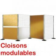 Cloison modulable liège recto/verso