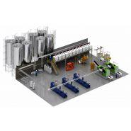Alimentation matiere plastique centralisee