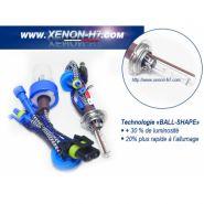 AMPOULES XENON H7X 75W MÉTAL HAUT DE GAMME - VENDUES PAR PAIRE  H7X-6000K-75W
